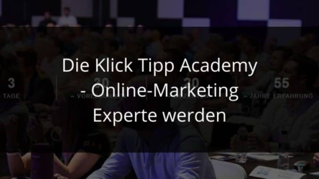 Klick Tipp Academy blog banner