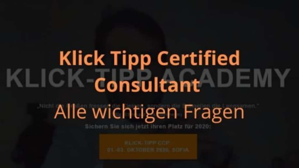 Klcik Tipp Certified Consultant blog banner