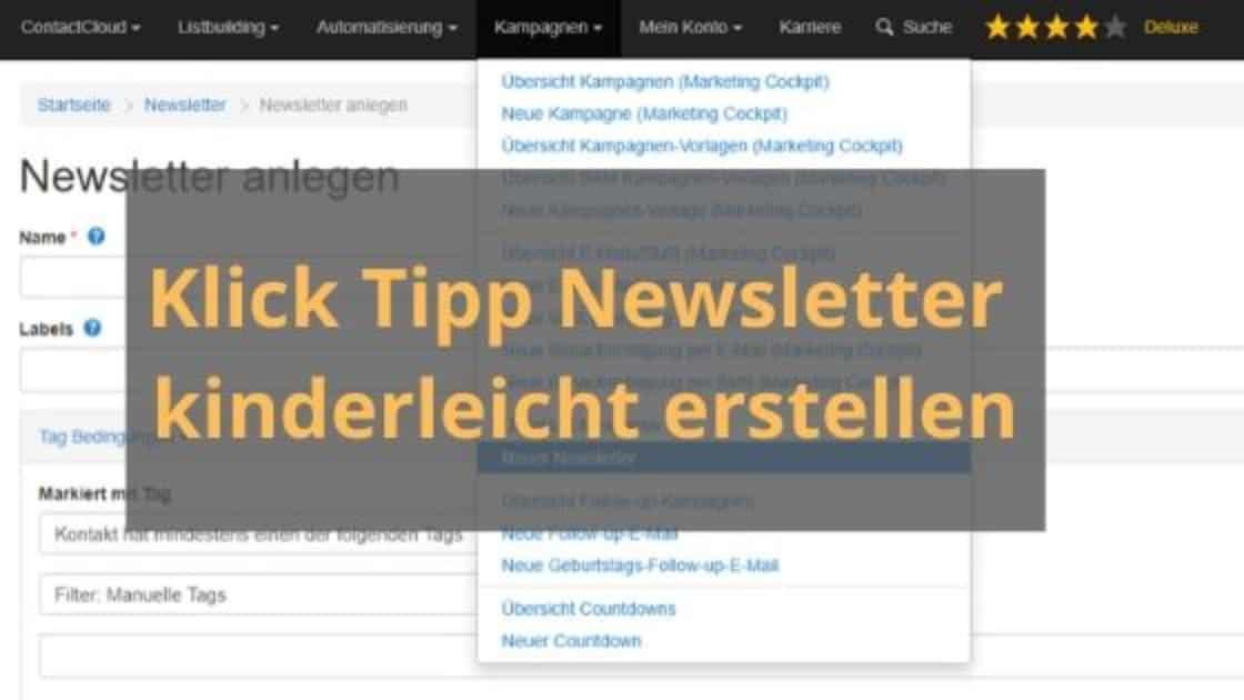 klick tipp newsletter blog banner